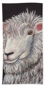 White Sheep Bath Towel