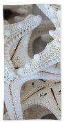 White Starfish Hand Towel