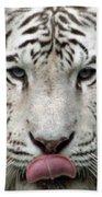 White Tiger - 02 Bath Towel