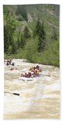 Animas River White Water Rafting The  Hand Towel