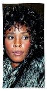 Whitney Houston 1989 Bath Towel