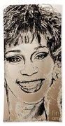 Whitney Houston In 1992 Bath Towel