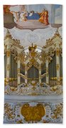 Wieskirche Pipe Organ Bath Towel