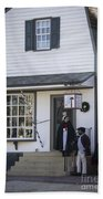Wigmaker And Barber Shop Williamsburg Virginia Bath Towel