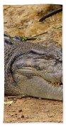 Wild Croc #2 Bath Towel