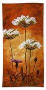 Wild Flowers 041 Bath Towel