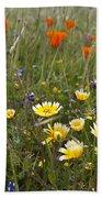 Wild Flowers Russian Ridge Bath Towel