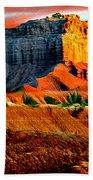 Wild Horse Butte Utah Bath Towel