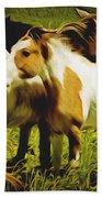 Wild Horses In California Series 14 Bath Towel