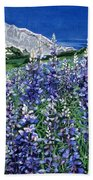 Wild Lupine Bath Towel
