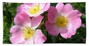 Wild Roses 1 Bath Towel