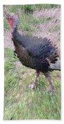Wild Turkey Bath Towel
