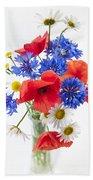 Wildflower Bouquet Hand Towel
