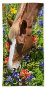 Wildflower Feast Bath Towel
