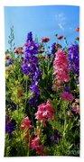 Wildflowers #14 Bath Towel