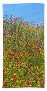 Wildflowers And Sky 2am-110541 Bath Towel