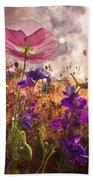 Wildflowers At Dawn Hand Towel