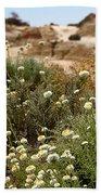 Wildflowers At Mungo National Park Bath Towel