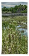 Wildlife Refuge Reflections Bath Towel