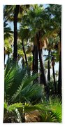 Willis Palm Oasis Bath Towel
