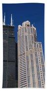 Willis Tower Chicago Bath Towel