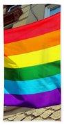 Wind Blown Pride Bath Towel