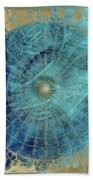 Wind Rose Map Of The Winds Bath Towel