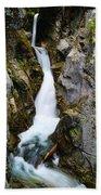Winding Down The Cliffs Bath Towel