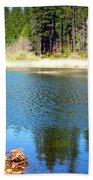 Windy Grace Lake Bath Towel
