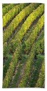 Wine Acreage In Germany Bath Towel