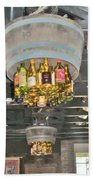 Wine Bottle Chandelier Bath Towel