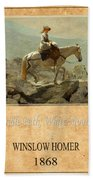 Winslow Homer 5 Bath Towel