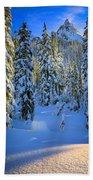 Winter Forest Bath Towel