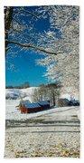 Winter In Vermont Bath Towel