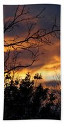 Winter Sunset In The Rogue Valley Bath Towel