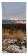 Winter Wilderness Landscape Yukon Territory Canada Bath Towel