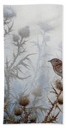 Winter Wren Hand Towel
