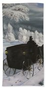 Winters Journey Bath Towel