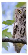 Wise Old Owl Bath Towel