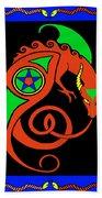 Witches Dragon Bath Towel