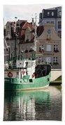 Wladyslawowo And Gdynia In Gdansk Harbor Bath Towel