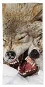 Wolves Rules Bath Towel