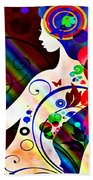 Wonder At The End Of The Rainbow Bath Towel