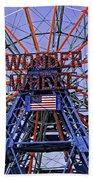 Wonder Wheel 2013 - Coney Island - Brooklyn - New York Bath Towel