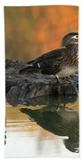 Wood Ducks Bath Towel