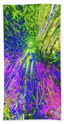 Wood Nymph With Her Magic Of Colours Bath Towel