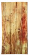 Wood Panels Bath Towel