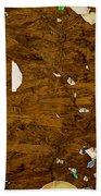 Wood Texture Bath Towel
