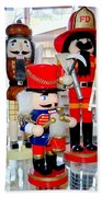 Wooden Soldiers Bath Towel