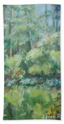 Woodland Pond Bath Towel